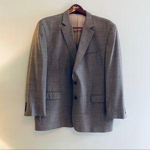 Ralph Ralph Lauren grey wool sport coat/blazer 50R